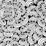 Seamless abstract pattern of interwoven chains Royalty Free Stock Image
