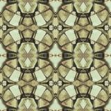 Seamless abstract pattern. Kaleidoscopic seamless texture. Royalty Free Stock Photos