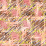Seamless abstract pattern of light colors. Colorful pattern Royalty Free Stock Photo