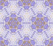 Seamless Abstract Pattern with marine inhabitants Royalty Free Stock Photo