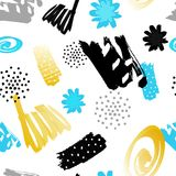 Seamless abstract pattern. Modern design. Stock Photography