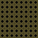 Seamless Abstract Pattern With Octagons Royalty Free Stock Image
