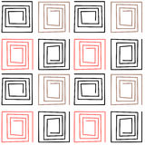 Seamless abstract pattern ornament geometric background Stock Image