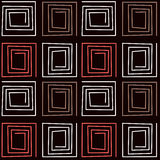 Seamless abstract pattern ornament geometric background Royalty Free Stock Photography