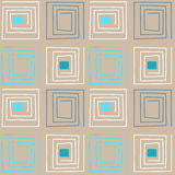 Seamless abstract pattern ornament geometric background Stock Images