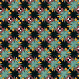 Seamless abstract pattern ornament geometric background Royalty Free Stock Images