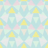 Seamless abstract pattern ornament geometric background Royalty Free Stock Image
