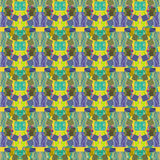 Seamless abstract pattern ornament geometric background Stock Photo