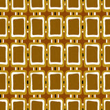 Seamless abstract pattern ornament geometric stylish background Royalty Free Stock Photos