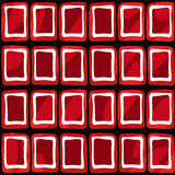 Seamless abstract pattern ornament geometric stylish background Stock Images