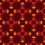 Seamless abstract pattern ornament stylish background Stock Photos