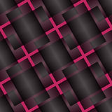 Seamless Abstract Pattern from Plus Cross Symbols Stock Photo
