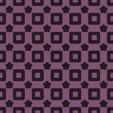 Seamless Abstract Pattern from Rectangles and Stars Royalty Free Stock Image