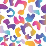 Seamless abstract pattern in retro memphis style. Fashion 80-90s.vector illustration Royalty Free Stock Image