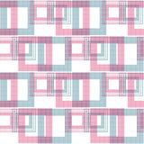 Seamless abstract pattern retro ornament geometric background Royalty Free Stock Images