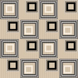 Seamless abstract pattern retro ornament geometric background Royalty Free Stock Photography