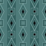 Seamless abstract pattern rhombuses square geometric background Royalty Free Stock Images