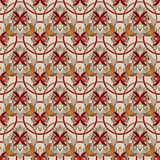 Seamless abstract pattern rhombuses square texture geometric bac Stock Photos