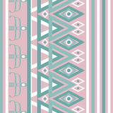 Seamless abstract pattern rhombuses texture geometric pink turqu Stock Photo