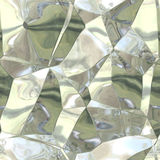 Seamless abstract pattern of silver-gold damaged foil Royalty Free Stock Photos