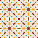 Seamless abstract pattern with stars Stock Photo
