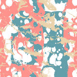Seamless abstract pattern with stone texture Stock Photography