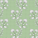 Seamless abstract pattern stylish texture on the green in specks background Royalty Free Stock Photo
