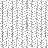 Seamless abstract pattern of thread Royalty Free Stock Photos