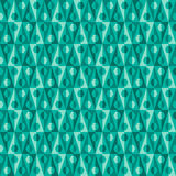 Seamless abstract pattern with triangles Royalty Free Stock Image