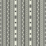 Seamless abstract pattern tribal Stock Photography