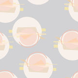 Seamless Abstract pattern. Seamless vector abstract pattern for your designe Stock Photo