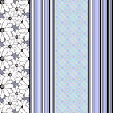 Seamless abstract pattern, vertical lines, drawing dots ornament stylish texture background Royalty Free Stock Photos
