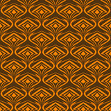 Seamless abstract pattern on wallpaper. And fabrics for decoration and packaging Stock Illustration