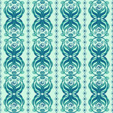 Seamless abstract pattern of wavy ornament vector illustration