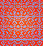 Seamless Abstract Pattern with Web Royalty Free Stock Image