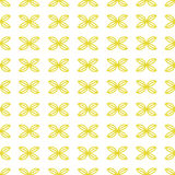 Seamless abstract pattern with wings of butterfly  Stock Image