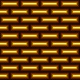 Seamless abstract pattern of yellow rectangless. Seamless abstract geometric pattern from yellow rectangless with imitation of brickwork Stock Image