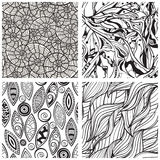 seamless abstract patterns Royalty Free Stock Photography