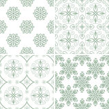 Seamless abstract patterns Stock Photos