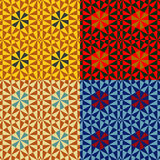 Seamless abstract patterns Royalty Free Stock Photo