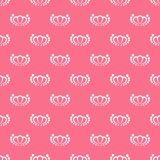 Seamless abstract pink patterns. Beautiful vector background. stock illustration