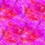 Seamless abstract pink purple watercolor design Stock Photography