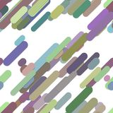 Seamless abstract random rounded diagonal stripe background pattern  Stock Photos