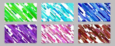 Seamless abstract random rounded diagonal stripe pattern   Royalty Free Stock Photography