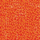 Seamless abstract retro drops pattern Royalty Free Stock Images