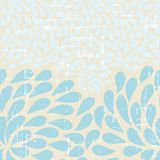 Seamless abstract retro drops pattern Royalty Free Stock Image