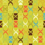Seamless abstract retro mid-century modern pattern. Seamless abstract mid century modern pattern for backgrounds, fabric design, wrapping paper, scrapbooks and vector illustration