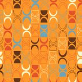 Seamless abstract retro mid-century modern pattern. Seamless abstract mid century modern pattern for backgrounds, fabric design, wrapping paper, scrapbooks and royalty free illustration