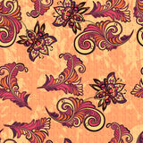 Seamless abstract retro pattern Royalty Free Stock Photo