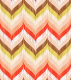 Seamless Abstract Retro Wave Pattern Royalty Free Stock Photography